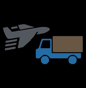 avion y camion
